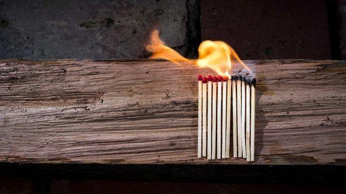 verbrannt