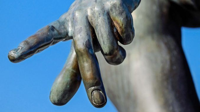 finger-gereicht